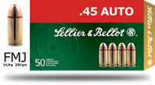 Sellier and Bellot 45 AUTO / 45 ACP, 1000 Rounds