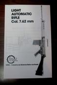 Light Automatic Rifle Cal. 7.62 mm Field Manual