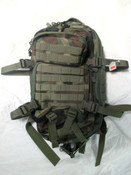 SGS COMPACT MODULAR STYLE ASSAULT PACK ( Woodland Camo)