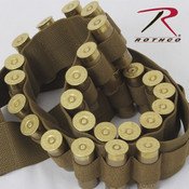 Rothco Shotgun Shell Bandolier -Coyote Brown