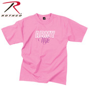 Rothco Army Wife T-Shirt/ Pink XSM