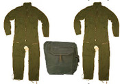 2 x Canadian Forces Coveralls, Un-issued 70-44 & Gas Mask Bag.