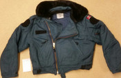 Canadian Forces Surplus Blue Cold Weather Flyers Jacket