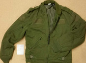 Canadian Forces Surplus Green F.R. Combat Flyers Jacket
