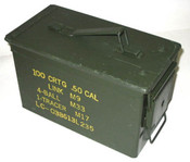 CFS .50 cal or 5.56 Ammo Can