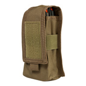 2 AR/AK Mags or Radio Pouch - Tan