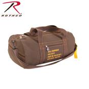 Rothco Canvas Equipment Bag -  Earth Brown