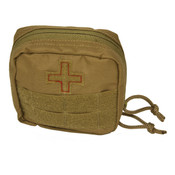 Red Rock Soldiers Molle Individual First Aid Kit - Coyote