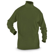 Canadian Military Long Sleeve Turtle Neck Thermal Shirt - Green (Unissued)