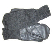 Swiss Wool & Leather Mitten