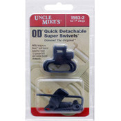 Uncle Mike's Quick Detachable Super Swivels - Shotguns 1""
