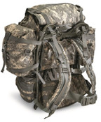 Surplus US Large Molle Field pack w/ Frame and Straps