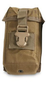 Surplus US Coyote Brown Molle Pouch
