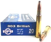 PPU 303 British 180gr SP BT 200rds