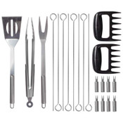 Mossberg™ 21pc Stainless Steel BBQ Set