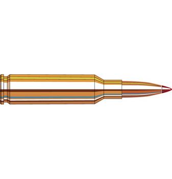 We carefully select every component to ensure uniformity, then load to exacting specifications to provide pinpoint accuracy. Each cartridge is loaded with either Hornady® A-MAX® bullets, our high-performance boattail hollow points, or the new, radically superior ELD® Match bullets. Stringent quality control ensures proper bullet seating, consistent charges and pressures, optimal velocity, consistent overall length and repeatable accuracy.
