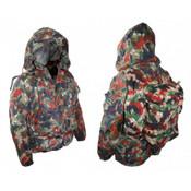 Swiss Alpenflage Heavyweight Parka w/ Backpack