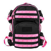 NC Star Tactical Backpack - Black/Pink