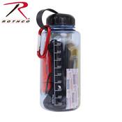 Rothco Water Bottle/Survival Kit