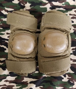 Used US Military Elbow Pads - Coyote