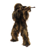 Red Rock 5 Piece Ghillie Suit (Woodland Camo) - Med/Lrg