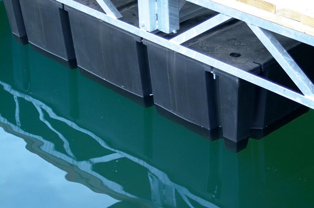 "HarborWare 4' x 8' x 16"" Dock Float Drums, 2150lbs"