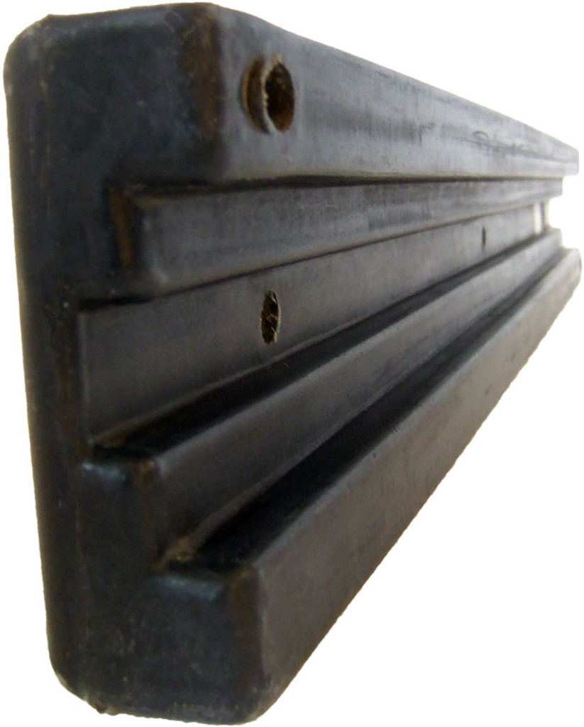 HarborWare 3' Vertical Post Dock Bumper, 2.5'' Groove (Box of 10)