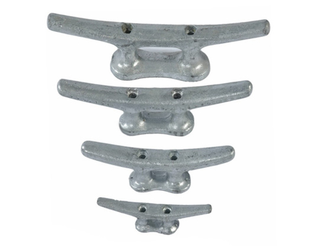 HarborWare Galvanized Steel Dock Cleats, 8""