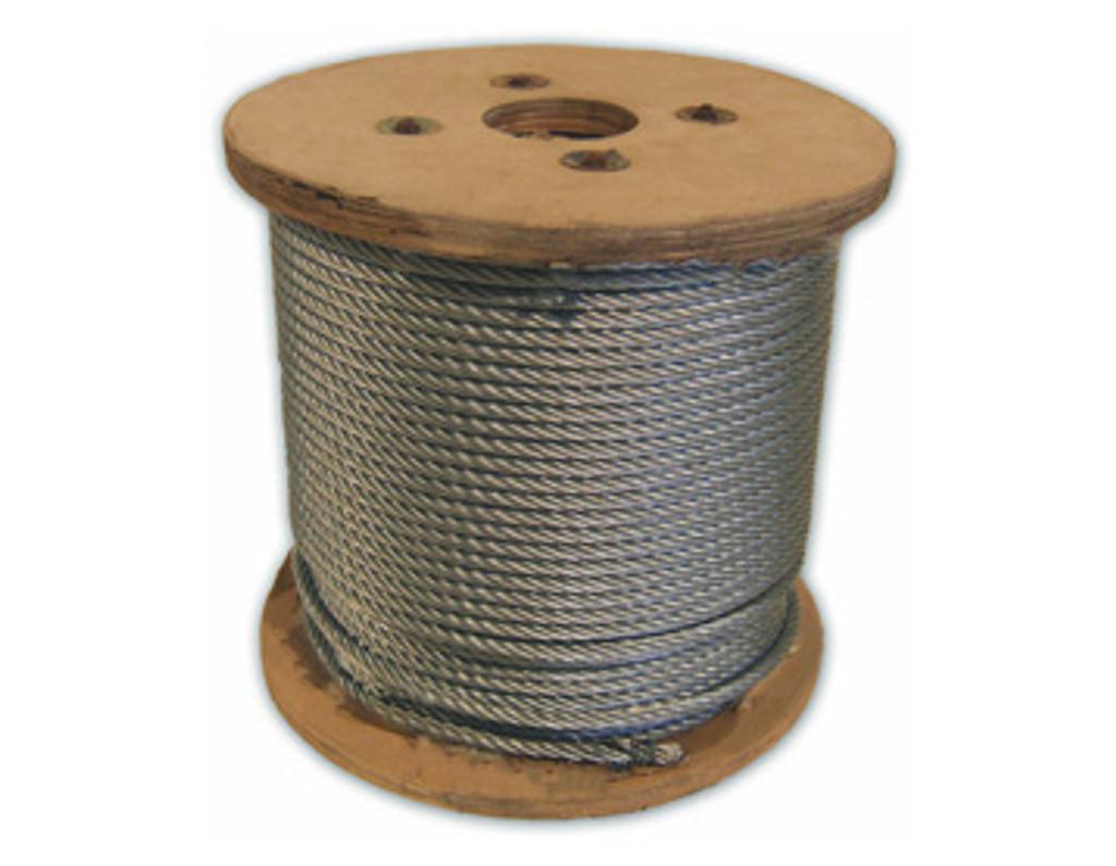 HarborWare Galvanized Steel Cable, 3/8-inch 1000'