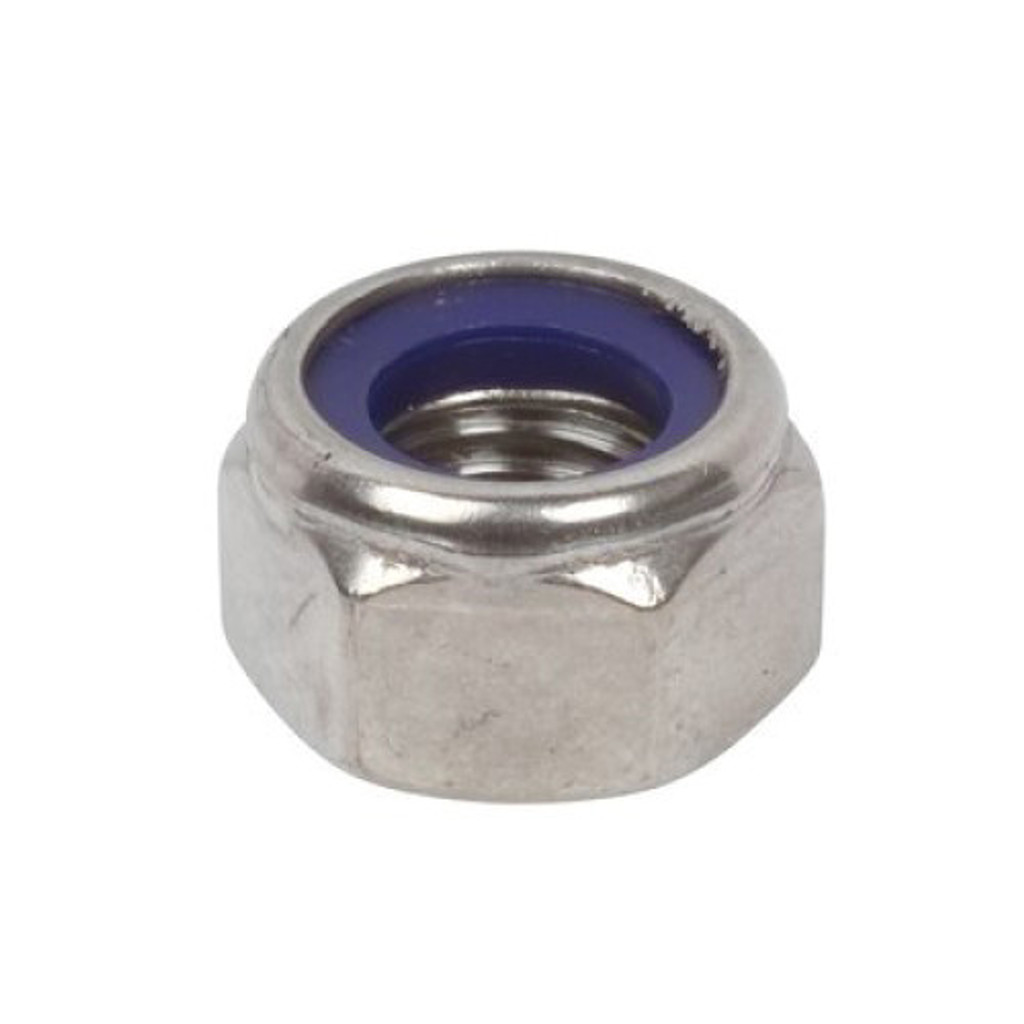 HarborWare Dock Float Nylock Nut, 3/8'' (Box of 200)
