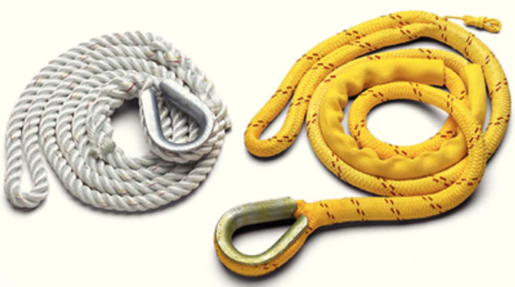 "New England Ropes Mooring Pendant 3/4""X12' Thimble, Poly/Nylon"