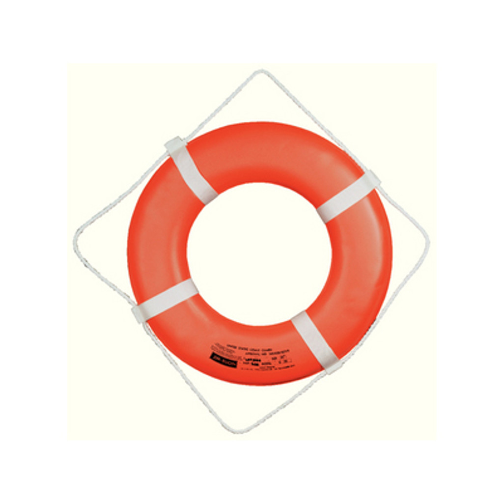 """Cal-June G Style Life Ring Buoy w/ Straps, 20"""""""