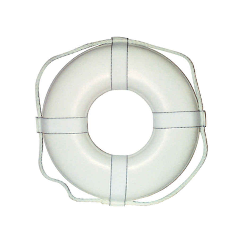 """Cal-June G Style Life Ring Buoy w/ Straps, 30"""""""
