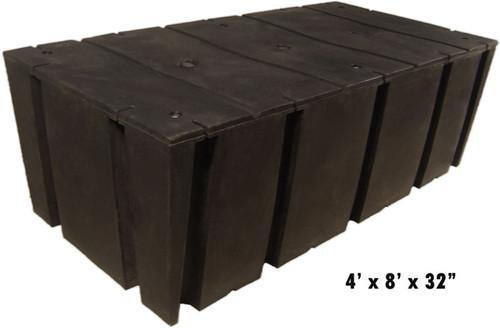 "HarborWare 4' x 8' x 32"" Dock Float Drums, 4129lbs"