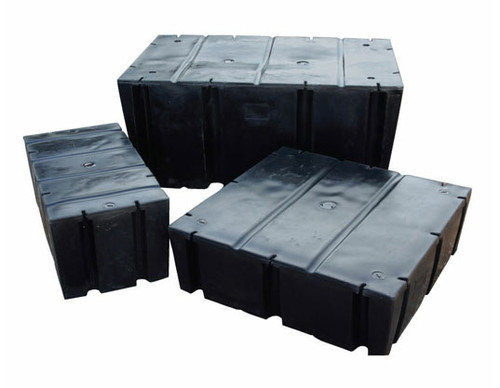 "HarborWare 4' x 10' x 16"" Dock Float Drums, 2800lbs"