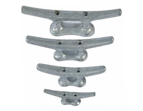 HarborWare Galvanized Steel Dock Cleats, 12''