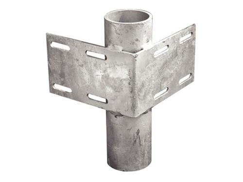 Tie Down Engineering Heavy-Duty Inside Corner Bracket w/ 3'' Pipe Holder