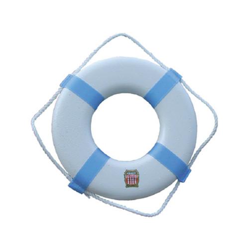 "Cal-June Plastic Life Ring Buoy, 17"""