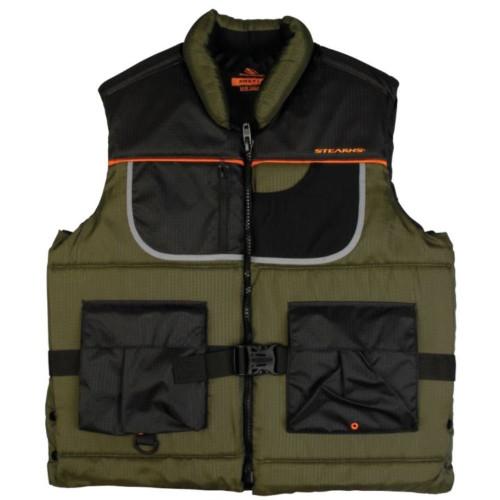 Stearns Adult Nylon Fishing PFD Vest, Green