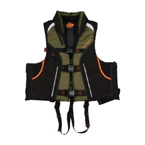 Stearns Adult Trophy Fishing PFD Vest, Green