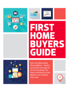 First home buyers (soft copy only)