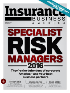 2016 Insurance Business America April issue (soft copy only)