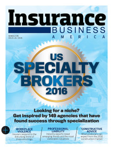 2016 Insurance Business America May issue (soft copy only)