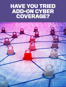 Have you tried add-on cyber coverage? (soft copy only)