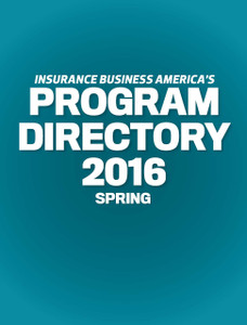 2016 Insurance Business Program Directory (soft copy only)