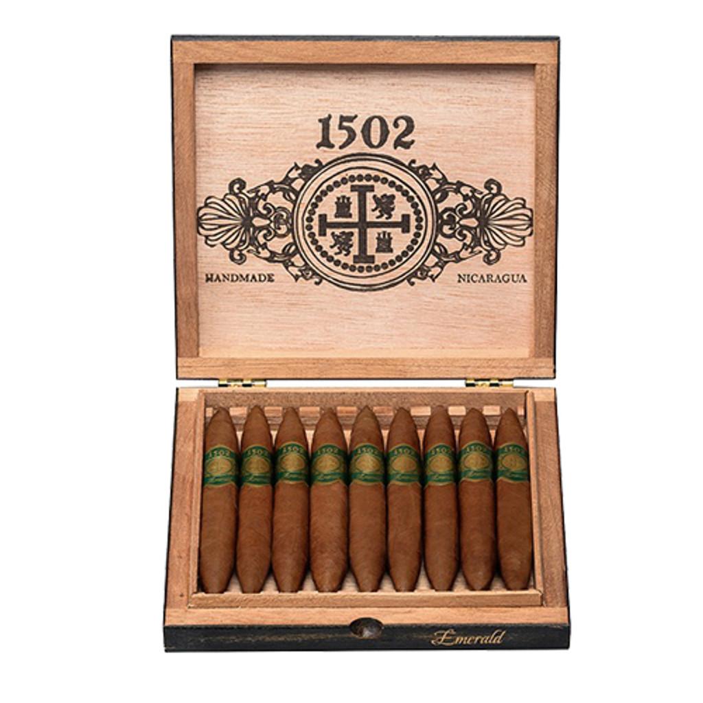 1502 Emerald Perfecto Box Pressed