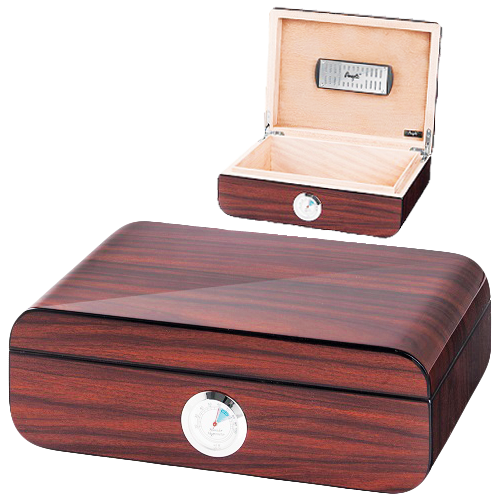 Walnut High Polish Humidor