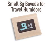 Boveda Large 8 gram 72% for Travel Humidors
