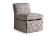 Sandy High Back Slipper Chair