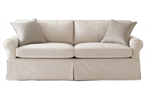 Round Arm Lawson 1 Sofa Carlyle